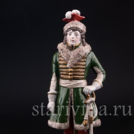 Фарфорвая статуэтка соладата Иохим Мюрат, Scheibe-Alsbach, Германия, вт. пол. 20 в.